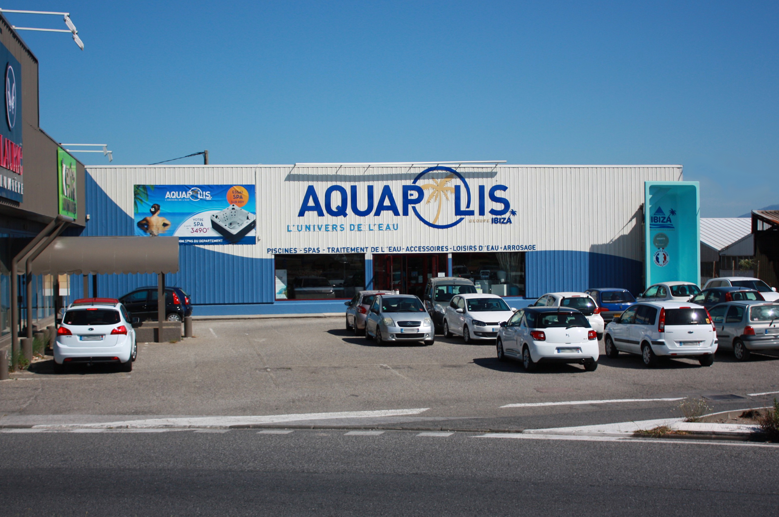 Magasins aquapolis for Aquapolis piscine chateauroux