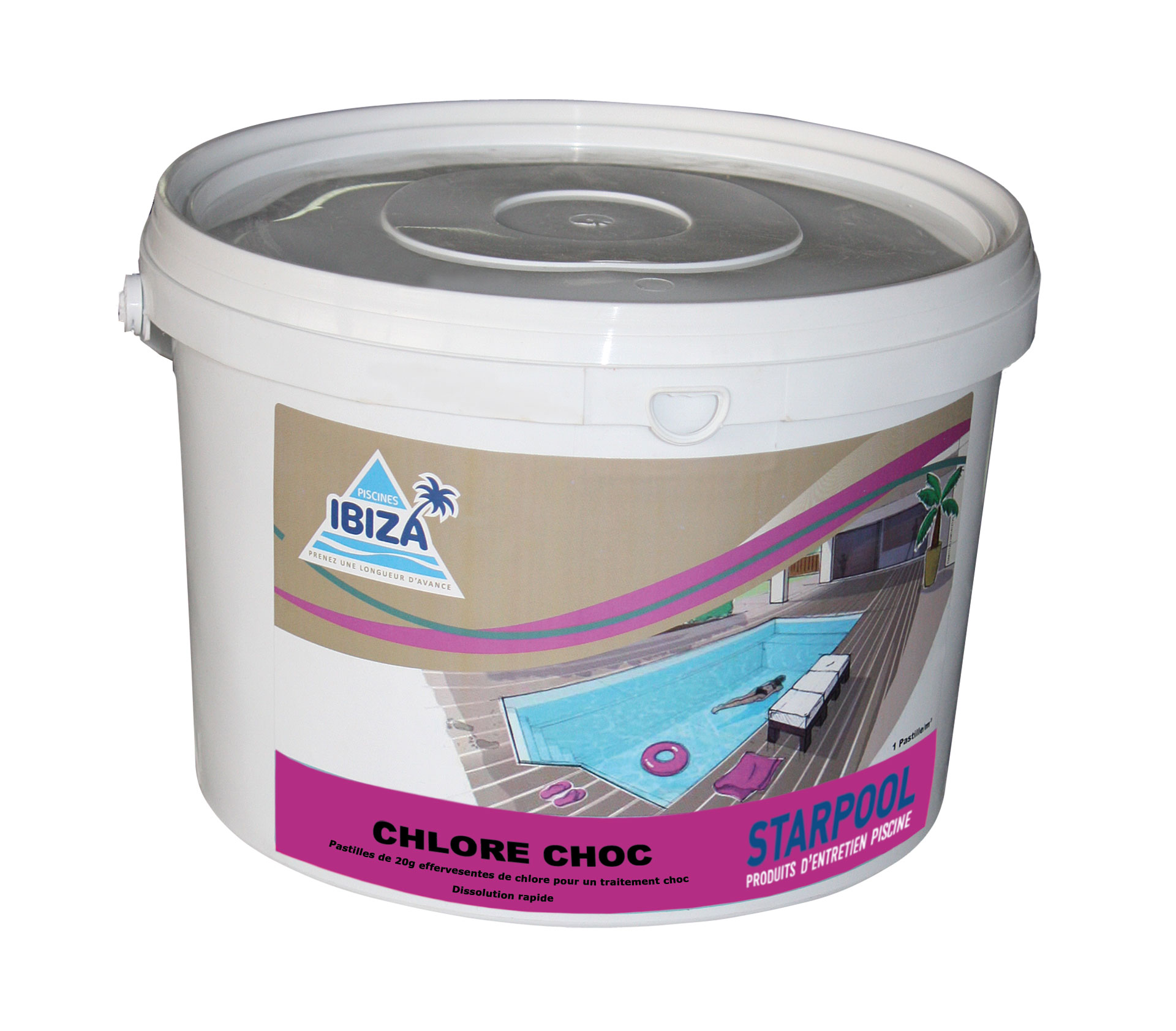 Chlore choc pour piscine chlorinate shock gr produces for for Piscine verte malgre chlore choc