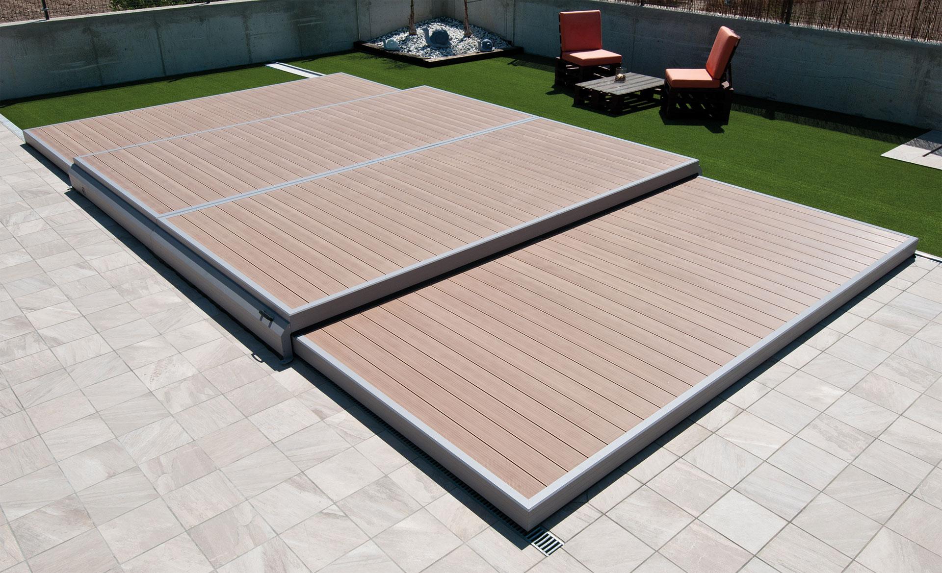 abri terrasse de piscine en kit intelligent deckwell aquapolis. Black Bedroom Furniture Sets. Home Design Ideas