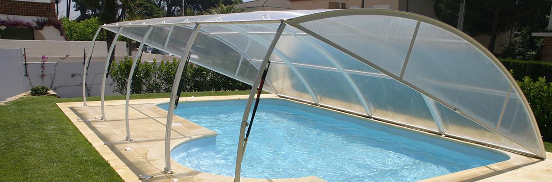 Les abris piscine télescopiques