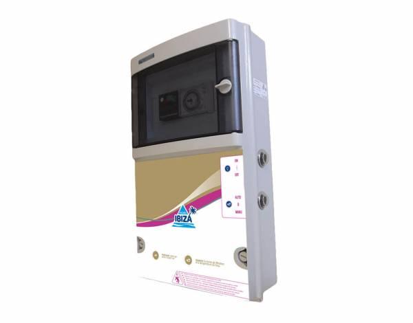 Coffret électrique pour filtration