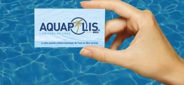 Découvrez la carte de fidélité Aquapolis