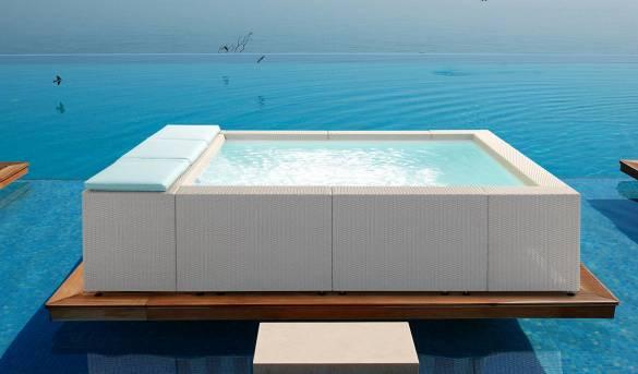 Piscine Hors Sol Luxe Revendeur Officiel Laghetto Aquapolis