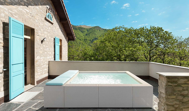 Piscine Hors Sol Portugal piscine hors sol luxe - revendeur officiel laghetto - aquapolis