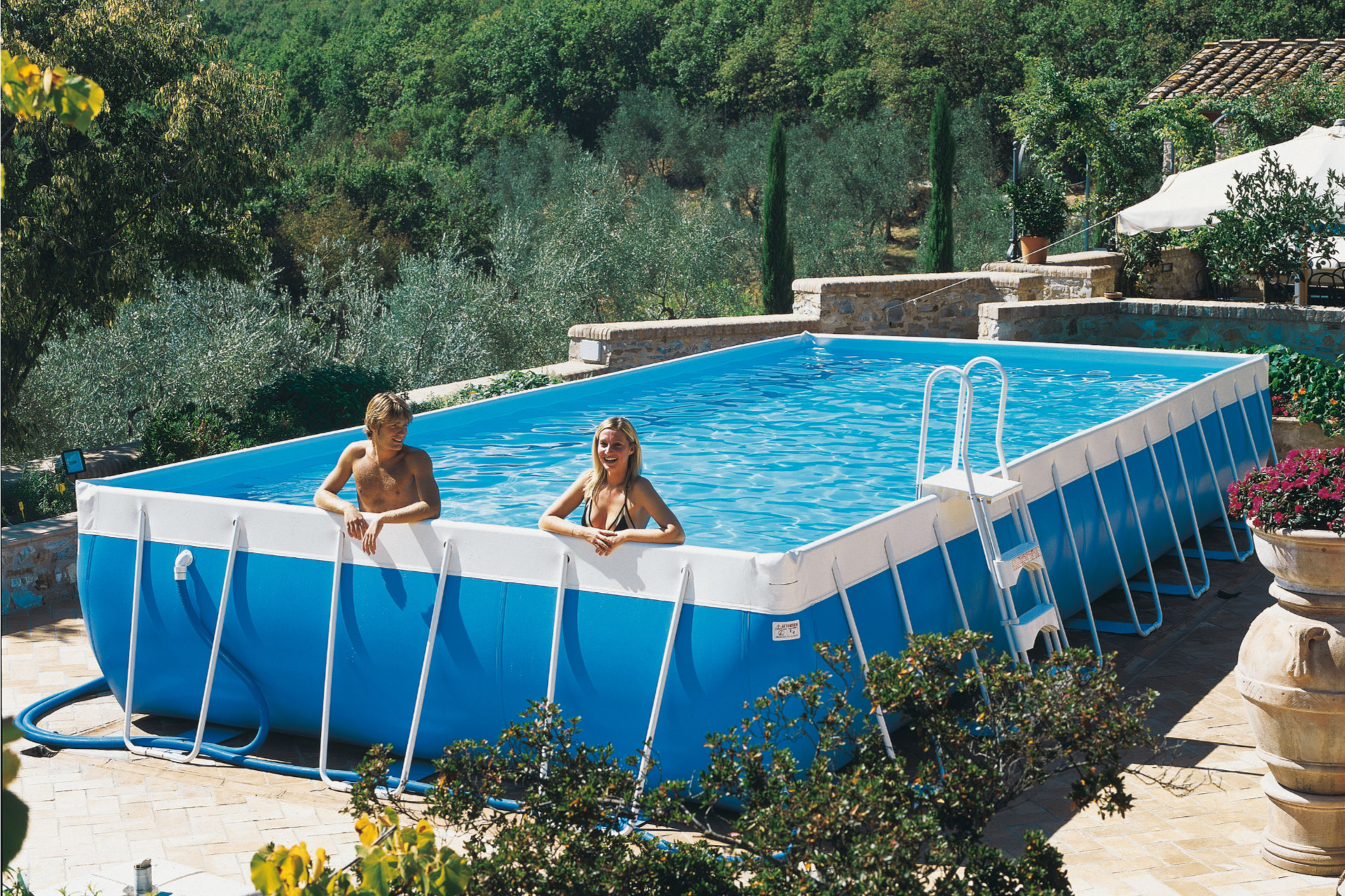 Le guide complet des piscines hors sol aquapolis - Piscine chauffee hors sol ...