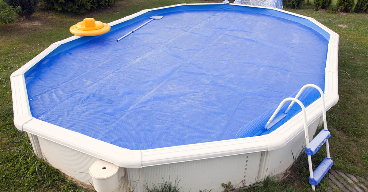 piscine hors sol ronde La Grande-Motte