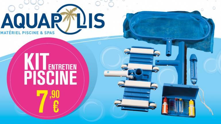 Le Kit Entretien Piscine à seulement 7,90€