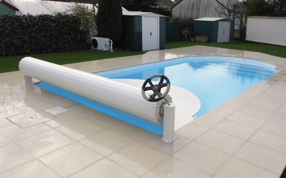 Volet roulant hors sol manuel piscine APF