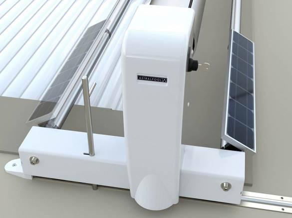 Volet solaire sur rails 4