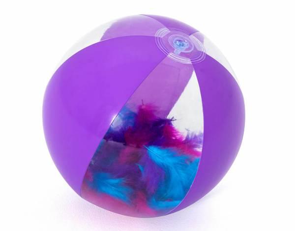 Ballon plume piscine 6