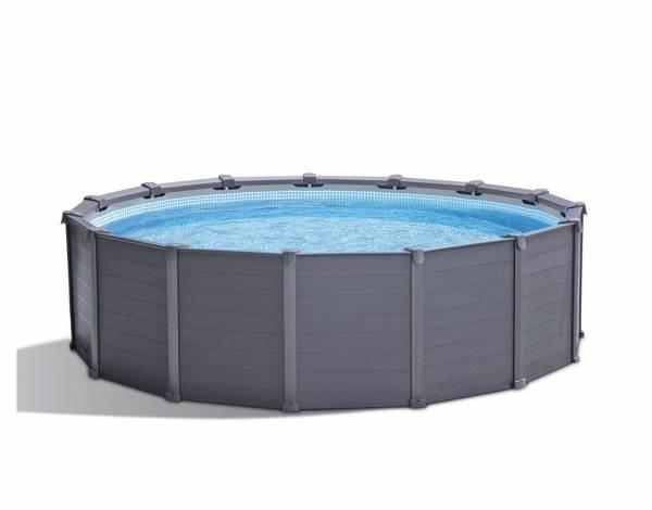 Kit piscine hors-sol Intex Graphite 6