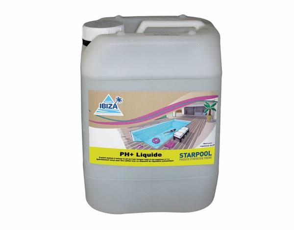 Produit pH plus liquide pour piscine Starpool