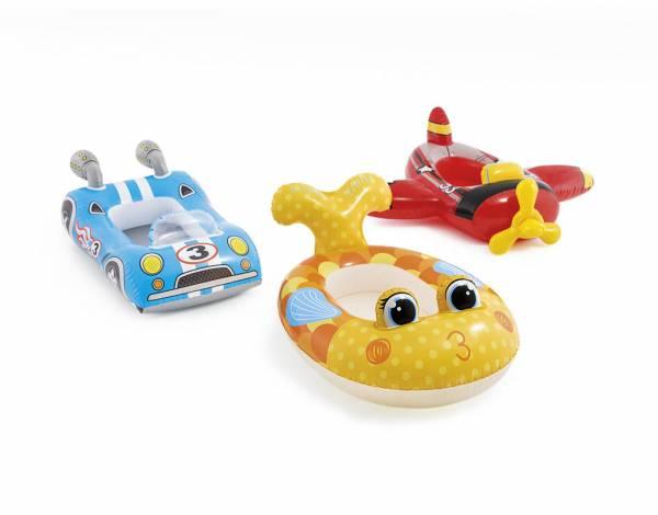 Bouée enfant voiture poisson avion Intex