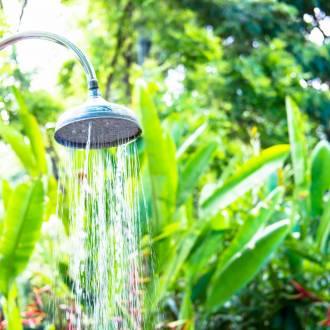 Douche d'extérieure pour jardin