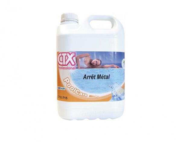 produit stop métal de la marque CTX bidon de 5 litres