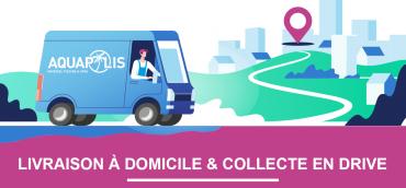 Livraison gratuite & Drive pour vos produits Piscine